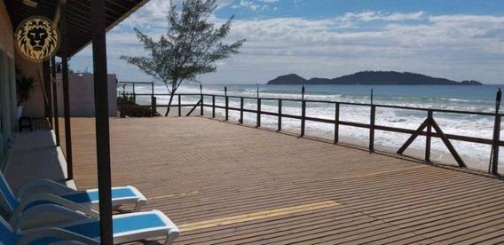 Casa Residencial Para Locação Frente Mar, Campeche, Florianópolis. - Ca0397