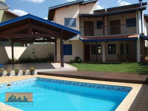 Imagem 1 de 23 de Casa Residencial À Venda, Loteamento Residencial Barão Do Café, Campinas - Ca1538
