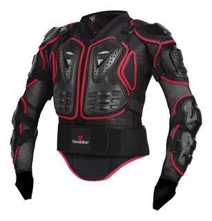 Traje De Chaqueta Protectora De Motocicleta De Seguridad