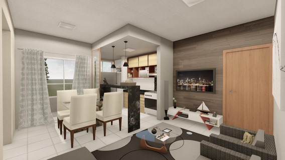 Apartamento Em Plano Diretor Sul, Palmas/to De 60m² 2 Quartos À Venda Por R$ 169.000,00 - Ap275819