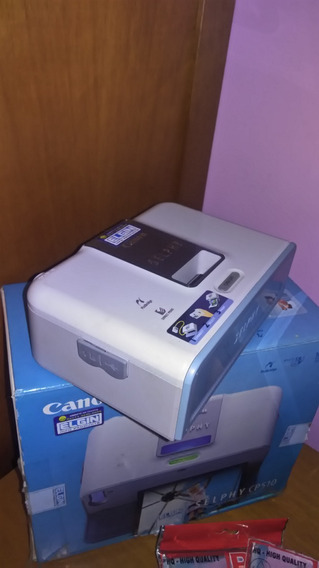 Impressora Foto Compacto Selphy Cp510 Da Cânon