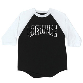 Playera Creature Rev Logo Raglan 3/4 Sleeve