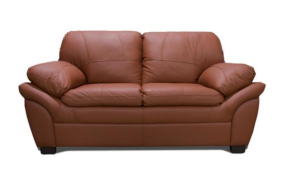 Love Seat De Piel - Génova - Conforto Muebles