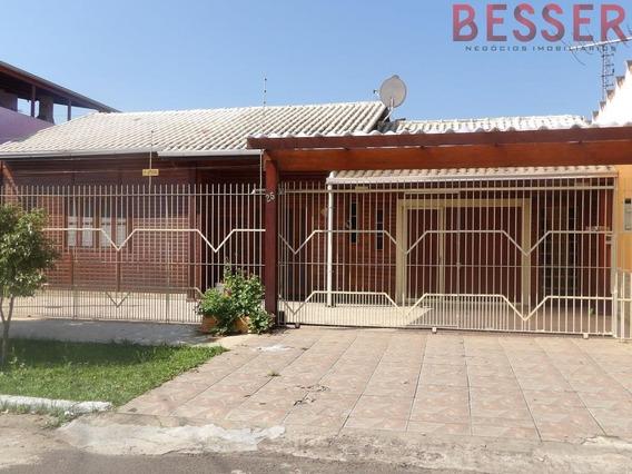 Excelente Casa Com 2 Dormitorios Em Sapucaia - V-746