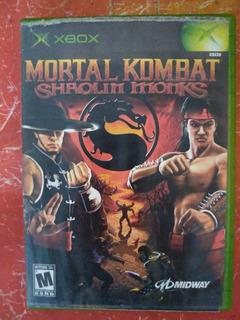 Mortal Kombat Shaolin Xbox Clásico