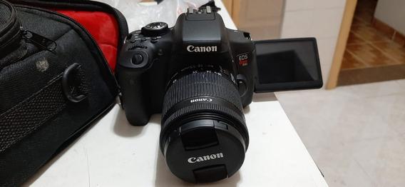 Câmera Fotográfica Canon T6i - Com Nf, Pouco Uso