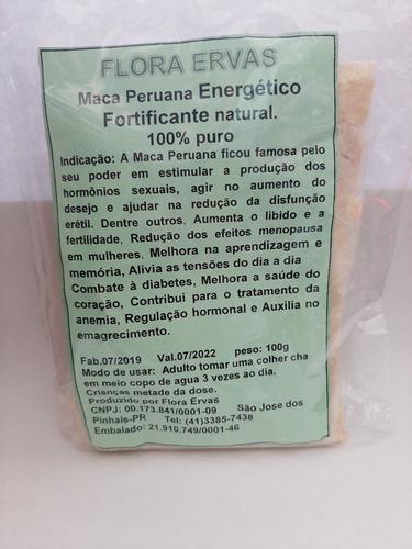 Maca Peruana - 500g Fortificante Natural 100% Puro
