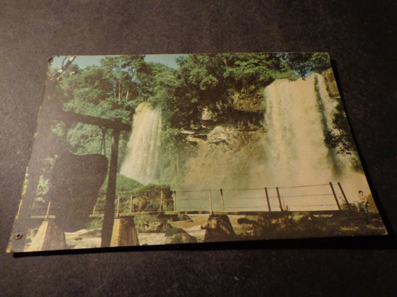 Brasil- Cataratas Do Rio Iguacu- Salto Dos Hermanas