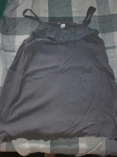 Musculosa Formal Negra De Zara Para Chicas,para 13-14 Años