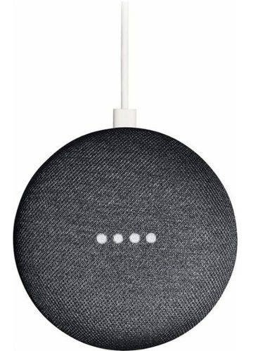 Caixa De Som Speaker Google Home Mini Wi-fi Original Preta