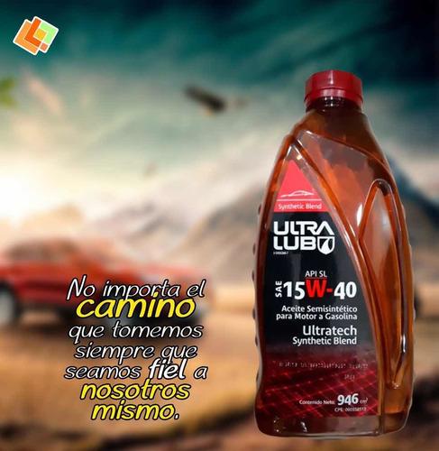 Aceite Semisintético 15w40 Ultra Lub Somos Tienda Física