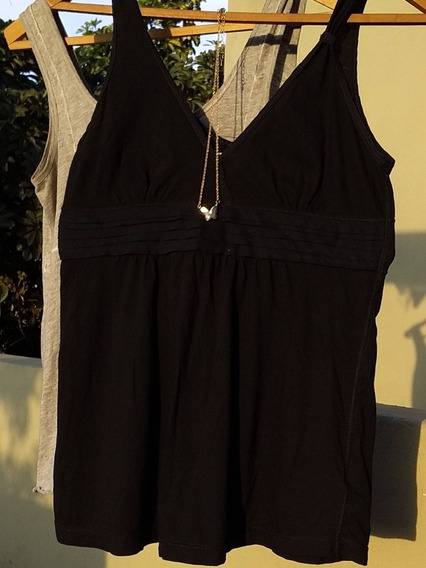 Remera Musculosa, Color Negra. De Jazmin Chebar.