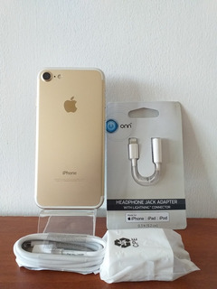iPhone 7 Gold 32gb Impecable, Garantía (220us)