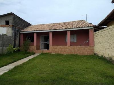 Casa Lado Praia Em Itanhaém, 2 Dormitórios - 5362/p