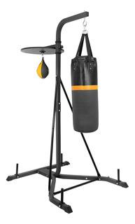 Base Soporte Con Costal Boxeo Y Pera Entrenamiento Uso Rudo