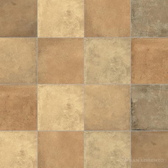 Ceramica Terre Mix Ladrillo 33x33 1ra Calidad San Lorenzo