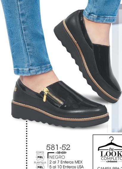 Zapato Dama Negro Mod. 581-52 Oi 2019