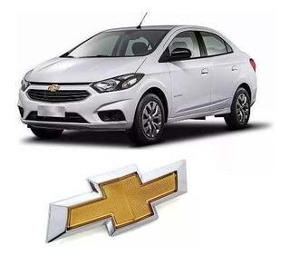Emblema Dianteiro Parachoque Novo Chevrolet Prisma 2017 2018 E 2019