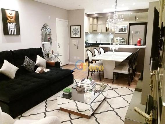 Apartamento Com 2 Dormitórios À Venda, 60 M² Por R$ 456.000,00 - Vila Cassaro - Itatiba/sp - Ap0347
