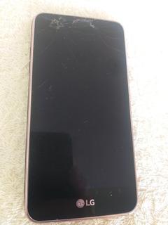 Celular LG K4 X230ds Para Uso De Peças (leia A Descrição )