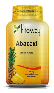 Abacaxi (bromelia Ananas) 500mg 60cps Fitoway