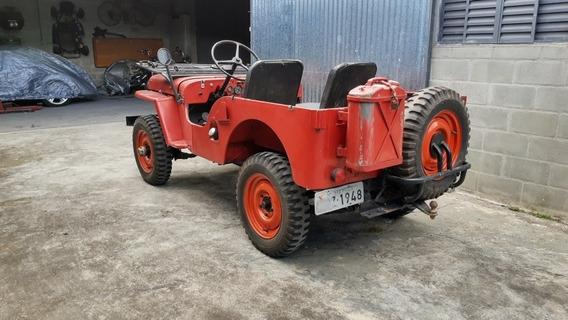 Jeep Willys Cj2 Não É Cj3