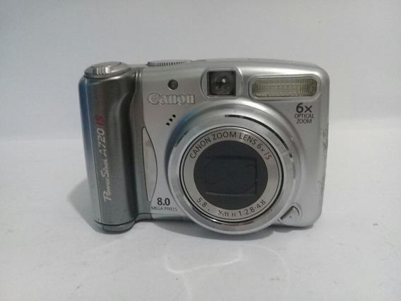 Câmera Canon A720is