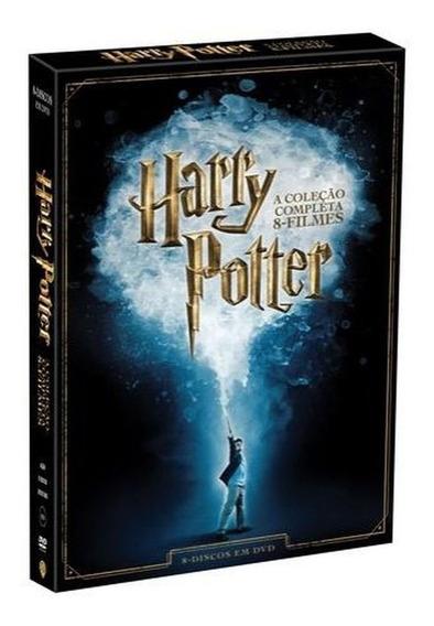 Box Dvd Harry Potter A Coleção Completa 8 Filmes | 8 Discos