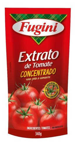 Extrato De Tomate Fugini Sache 340 G