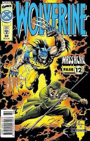 Gibi Hq Wolverine Nº 80 Massacre Fase 12