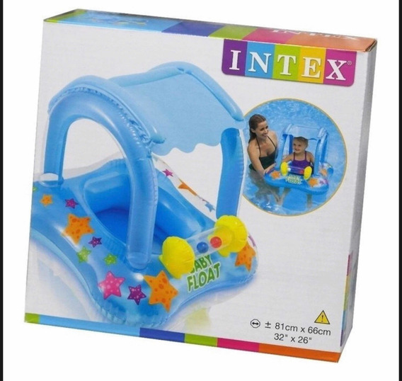 Inflable Con 3 Pelotas Intex