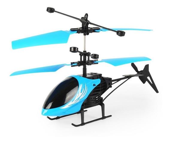 Mini Drone Voador Colorido Diodo Emissor De Luz De Controle