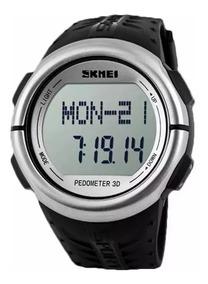Relogio Monitor Cardiaco Original Skmei Pedômetro 1058