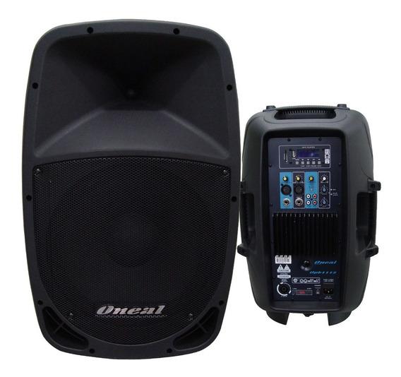Caixa Acústica Ativa Oneal Opb 1112 - Maxcomp Musical