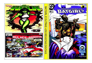 2 Dvd Batgirl E Outras C/+ De 390 Revistas Digitalizadas
