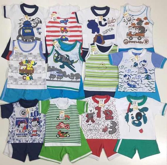 Roupa Bebê Menino Infantil Kit 12 Conjunto Masculino Atacado