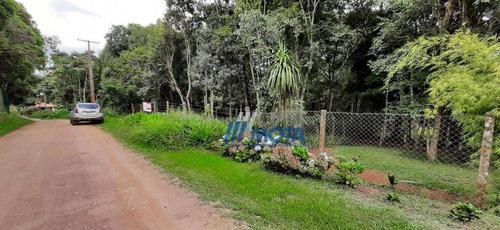 Área  A Venda Em Piraquara Com 22.023,83 M2 Para Formar Chácara, Casa De Campo E Outras Finalidades - Ch0204