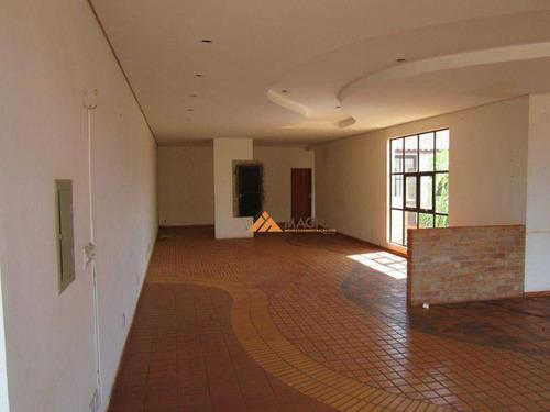 Imagem 1 de 13 de Prédio Para Alugar, 350 M² Por R$ 20.000,00/mês - Parque Industrial Lagoinha - Ribeirão Preto/sp - Pr0084