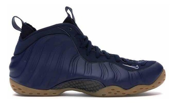 Tênis Nike Air Foamposite One - Midnight Nay Gum - Basquete