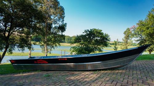 Bote De Aluminio Beira Rio Tibagi 450 Modelo Bicudo