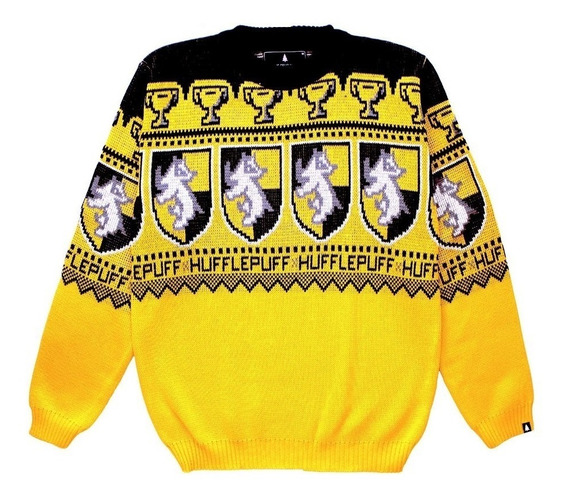 Harry Potter Hufflepuff Sweater Sin Genero Tifn