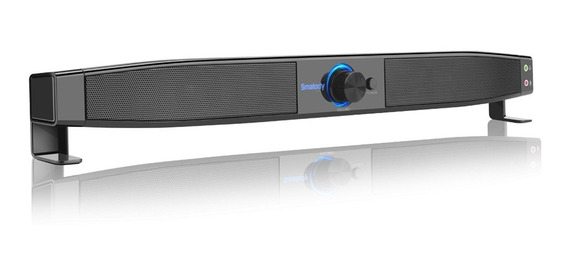 Smalody Soundbar Usb Alto-falantes Alimentados Home Theater