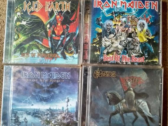 Coleção Heavy Metal Cds + Dvds De Brinde