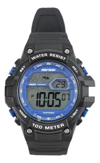 Relógio Mormaii Digital Wave Mo3480a8a Preto