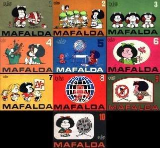 Mafalda Colección De 10 Libros