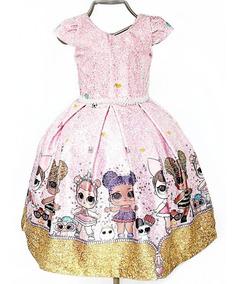 Vestido Festa Infantil Lol Surprise