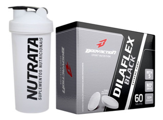 Dilaflex Black 60 Tabletes Bodyaction + Coqueteleira