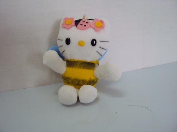 Pelucia Miniatura Hello Kitty Abelha Tamanho 10cm