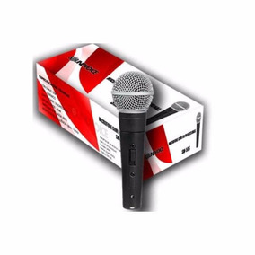 Microfone Dinâmico Soundvoice Sm 58s