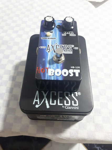 Pedal Hot Boost Giannini C/chave True Bypass Modelo Hb-120